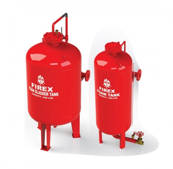 Extinguisher & Foam Tank