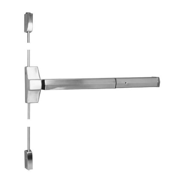 UL Listed Fire Rated Double Panic Bar For NAFFCO Door